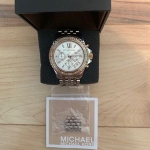 Michael Kors 2 tone watch Gold and Sliver